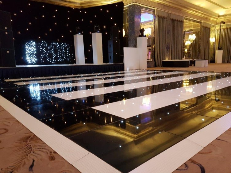 Why not combine both the black and the white LED floors to create a unique pattern for your occasion. With all of our LED floors being made to the highest ...