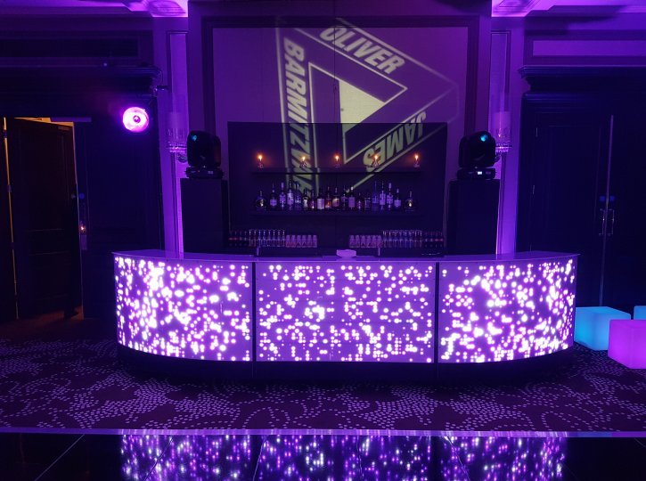 LED and Video Bars for Hire